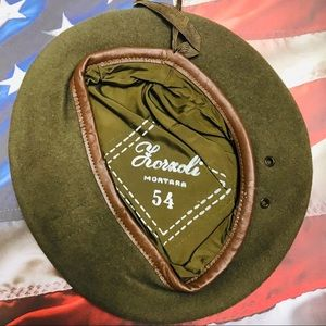 Military Beret Size 54